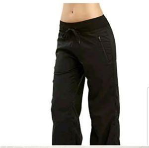 NEW Marika stretch woven drawcord pants Medium